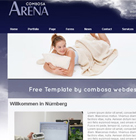 Website Baker Template arena