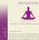 Website Baker Template meditation
